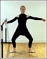 ballet plie exercise