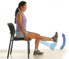 chair rest leg workouts