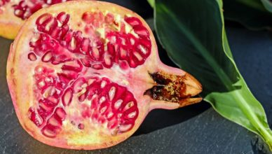 pomegranate increases blood