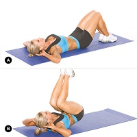 reverse-crunches-exercise-to-lose-weight-women