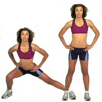 side lunges leg exercise