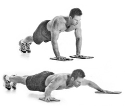 walking-push-ups